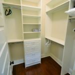 Large walk-in closet in fully furnished apartment at 380 Dufferin Ave, London, ON