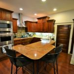 Breakfast bar at 380 Dufferin Ave, fully furnished rental suite in London, ON