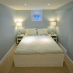 Bedroom in fully furnished rental suite at 565 Princess Ave, in London, ON
