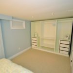 Bedroom storage in fully furnished rental suite at 565 Princess Ave, in London, ON