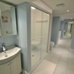 Bathroom in 2-bedroom furnished rental suite at 565 Princess Ave, London, ON