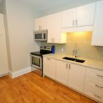 Newly renovated kitchen in furnished apartment at 565 Princess Ave, London, ON