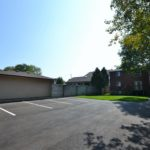 Ample parking at fully furnished 3 bedroom apartments at 642 Southdale Rd E, London, ON