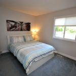 Bedroom in fully furnished 3 bedroom apartment at 1-642 Southdale Rd E, London, ON