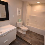 Bathroom in 2-1285 Westdel Bourne fully furnished 2 Bedroom apartment, London, ON