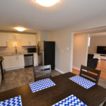 Dining room / kitchen in 2-1285 Westdel Bourne fully furnished 2 Bedroom apartment, London, ON