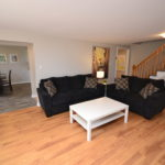 Fully furnished living room in 2-1285 Westdel Bourne 2 Bedroom apartment, London, ON