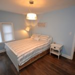 Second furnished bedroom in rental suite at 3-380 Dufferin Ave, London, ON