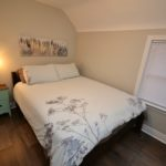 Third furnished bedroom in rental suite at 3-380 Dufferin Ave, London, ON