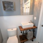 Bathroom in fully furnished apartment at 3-380 Dufferin Ave, London, ON