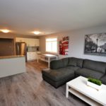 Fully furnished living room in 3 bedroom apartment at 3-642 Southdale Rd E, London, ON