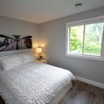 Bedroom in fully furnished 3 bedroom apartment at 3-642 Southdale Rd E, London, ON