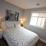 Third bedroom in fully furnished 3 bedroom apartment at 3-642 Southdale Rd E, London, ON