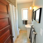 Bathroom in London apartment, fully furnished rental suite at 565 Princess Ave, London, ON