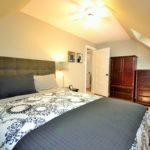 Large bedroom in fully furnished rental suite at 565 Princess Ave, London, ON