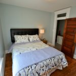 Second furnished bedroom in rental suite at 567 Princess Ave, London, ON