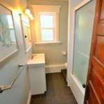 Bathroom in fully furnished apartment at 567 Princess Ave, London, ON
