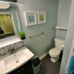 Second bathroom in fully furnished apartment at 567 Princess Ave, London, ON