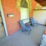Covered porch at Furnished apartment at 567 Princess Ave in London, ON