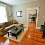 Furnished living room in rental suite at 567 Princess Ave, London, ON