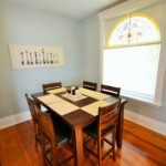 Furnished dining room in rental suite at 567 Princess Ave, London, ON
