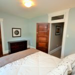 Furnished bedroom in rental suite at 567 Princess Ave, London, ON