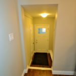 Entrance of fully furnished bachelor suite at 572 Piccadilly Street, London, ON