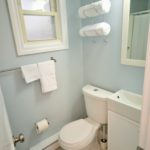 Bathroom in fully furnished bachelor suite at 572 Piccadilly Street, London, ON