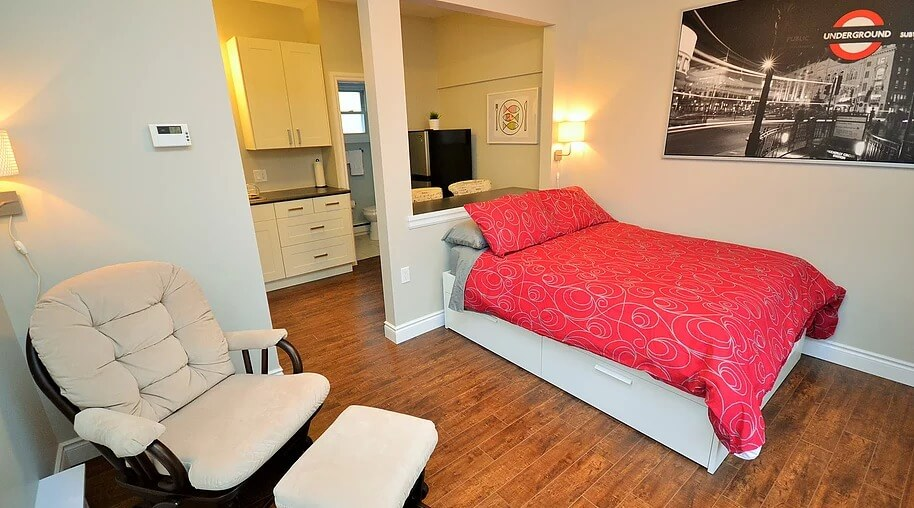 bachelor suite furnished rental piccadilly street
